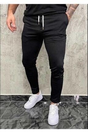 Erkek Siyah Slim fit Jogger 0010