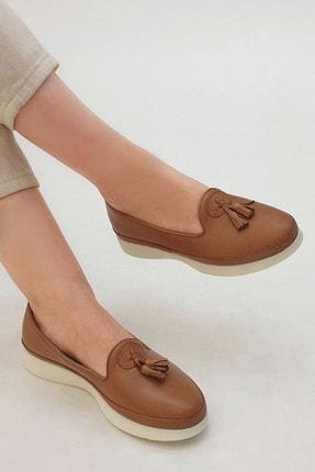 Marjin Sore Kadın Hakiki Deri Comfort Ayakkabıtaba 4