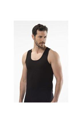 Erkek Siyah Kısa Kollu Atlet 1401 CA1401-SIYAH-S