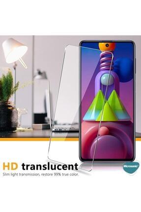 Zore Samsung Galaxy M51 Temperli Kırılmaz Cam Ekran Koruyucu 4