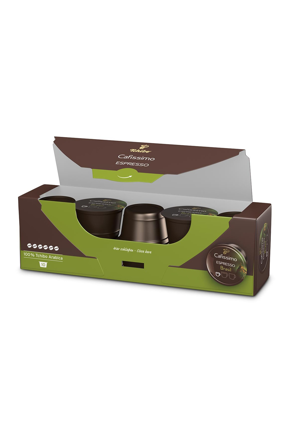 Tchibo No Color Espresso Brasil 10'Lu Kapsül Kahve 3