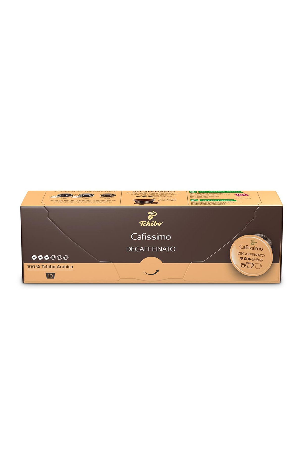 Tchibo Caffè Crema Decaffeinato 10'Lu Kapsül Kahve 71805 2