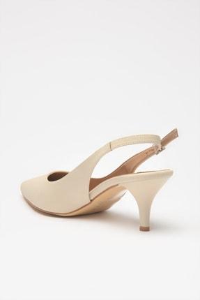 Hotiç Bej Kadın Klasik Topuklu Ayakkabı 01AYH205370A310 3