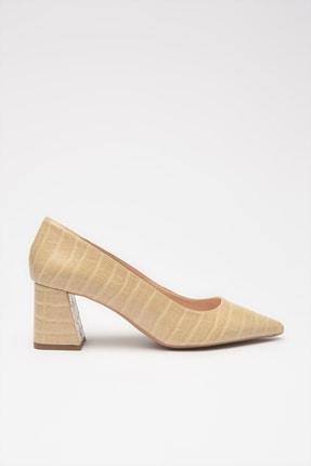 تصویر از Bej  Klasik Topuklu Ayakkabı 01AYH213670A310