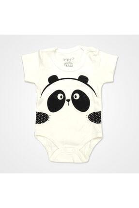 Bebbek Panda Desenli Hastane Çıkış Seti 10'lu - Siyah 4