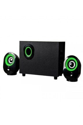Platoon Pl-4237 Bluetooth Speaker Hoparlör Fm/sd/usb 2+1 Ses Sistemi 0