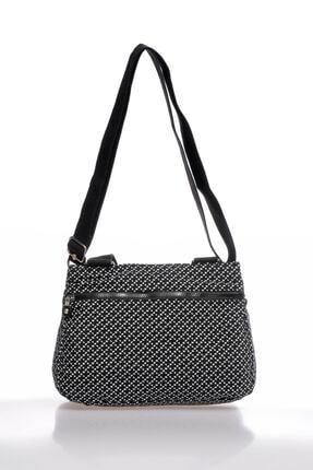 Smart Bags Smbky1125-0127 Siyah/beyaz Kadın Omuz Çantası 2