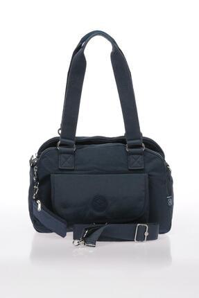 Smart Bags Smb1122-0033 Lacivert Kadın Omuz Çantası 0