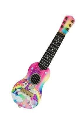 aslan oyuncak Pembe Oyuncak 6 Telli Kartella Ispanyol Gitar 0