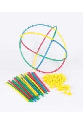 eklesepete Kutusuz 300 Parça Eğlenceli Bambu Çubuklar Eğitici Zeka Oyunu 0