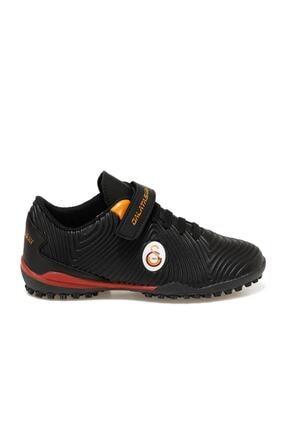 Galatasaray AGRON TURF J GS Siyah Erkek Çocuk Halı Saha Ayakkabısı 100521503 1