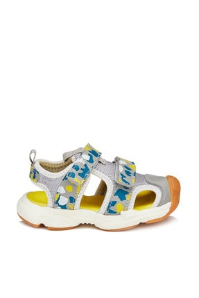 Vicco Leo Erkek Çocuk Gri Sandalet 2