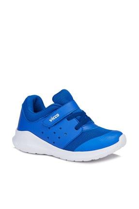 Vicco Mario Erkek Çocuk Saks Mavi Spor Ayakkabı 0