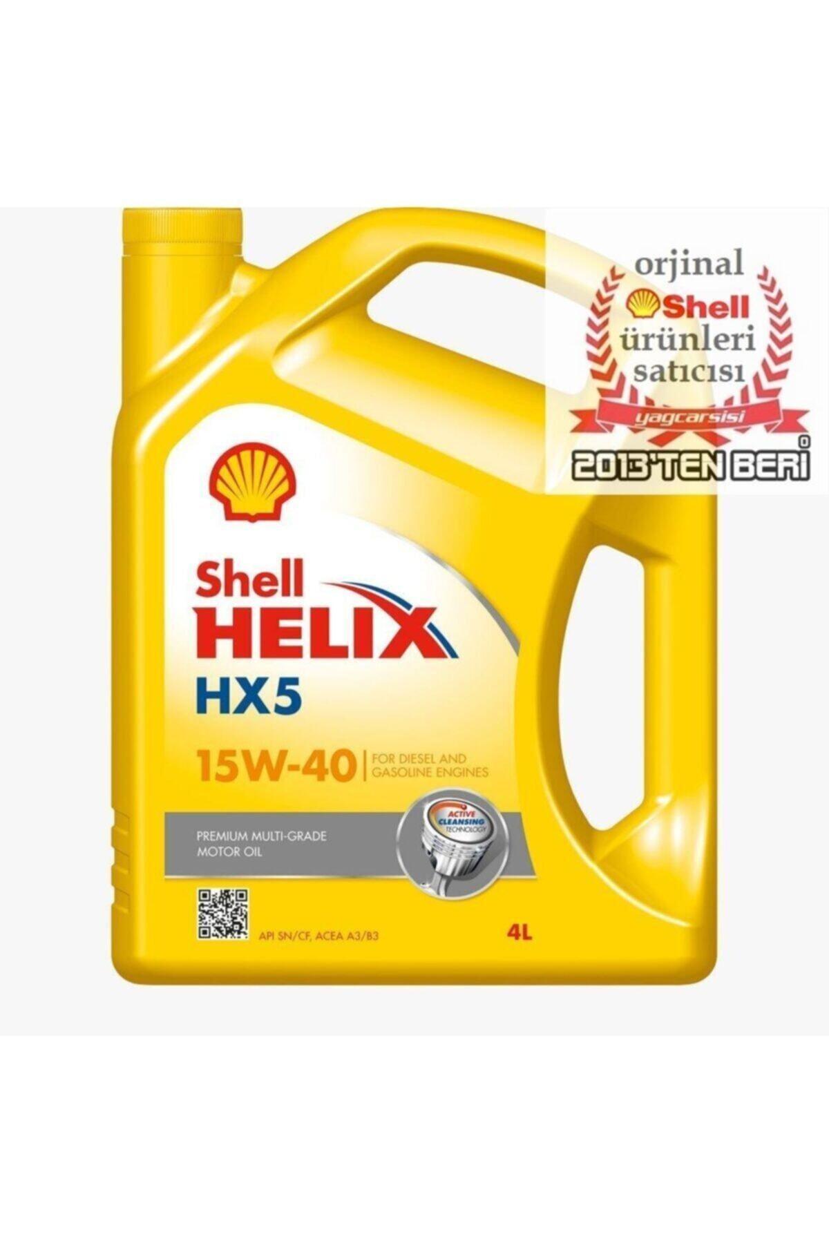 Helix Hx5 15w40 4 Litre