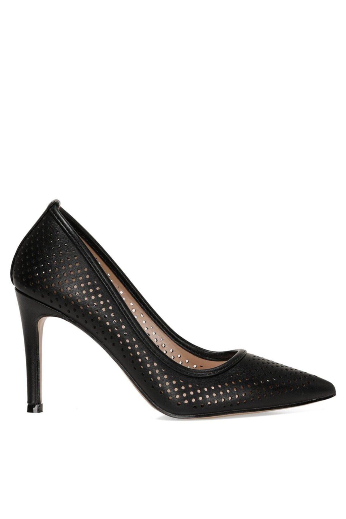 JERRIKA 1FX Siyah Kadın Klasik Topuklu Ayakkabı 101007984