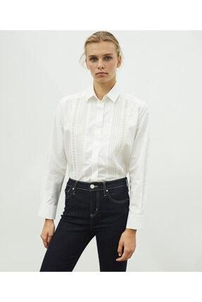 İpekyol Dantel Şeritli Gömlek 1