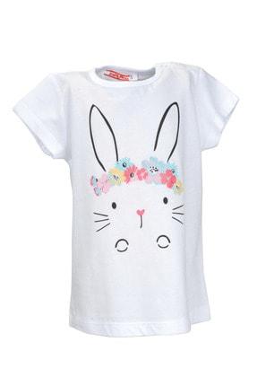 Zeyland Kız Bebek Beyaz Tshirt 0