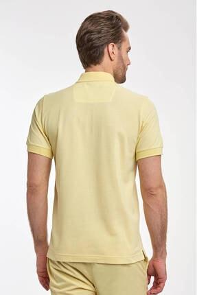 Hemington Erkek Sarı Polo Yaka T-Shirt 2