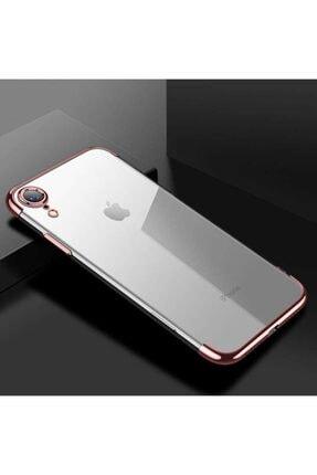 Apple Iphone Xr Kılıf Lazer Boyalı Renkli Esnek Silikon Şeffaf 0