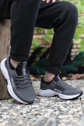 Riccon Unisex Füme Beyaz Sneaker 0012072 2