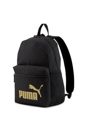 Puma PHASE BACKPACK PUMA Siyah Kadın Sırt Çantası 101085600 0
