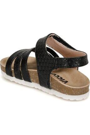 Vicco Kadın Siyah Sandalet 2
