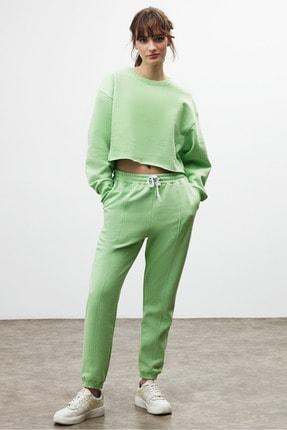 GRIMELANGE CLEMENTINE Kadın Yeşil Renk Yuvarlak Yaka Eşofman Takımı 0