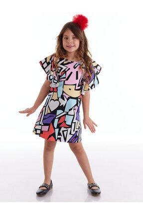 Colorful Kız Elbise resmi