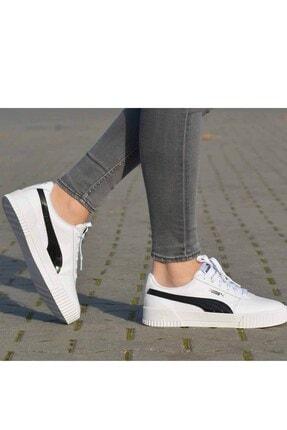 Puma Carina Pfs Wn's Kadın Günlük Spor Ayakkabı 371212 02 Beyaz-syh 1