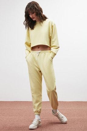 GRIMELANGE CLEMENTINE Kadın Sarı Renk Yuvarlak Yaka Eşofman Takımı 3