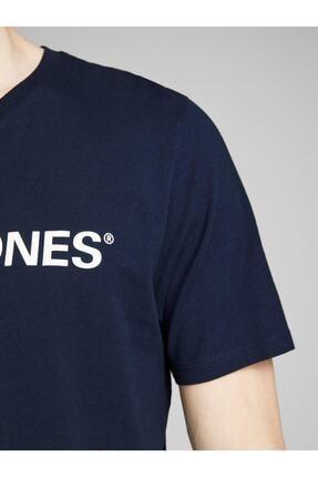 Jack & Jones Jack Jones Logo Crew Neck Noos Erkek Tshirt 12137126sg 3