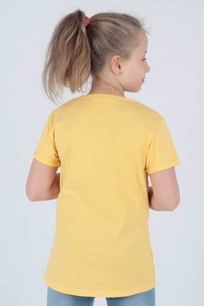 Ahenk Kids Kız Çocuk Sarı Ananas Baskılı Tshirt Ak721525 3