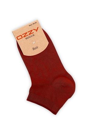 Ozzy Socks Kadın 12 Çift Bambu Dikişsiz Patik Çorap 4 Mevsim Dayanıklı Topuk Ve Burun Koyu Renkler 3