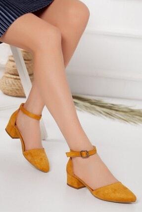 Kadın Sarı Topuklu Ayakkabı 777687
