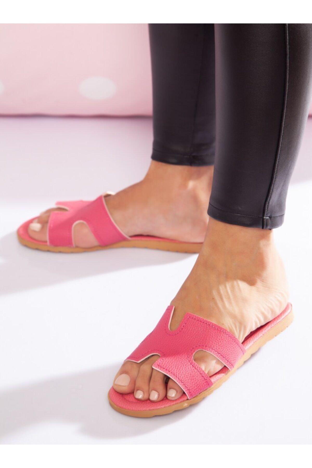 ayakkabıhavuzu Kadın Pembe Terlik