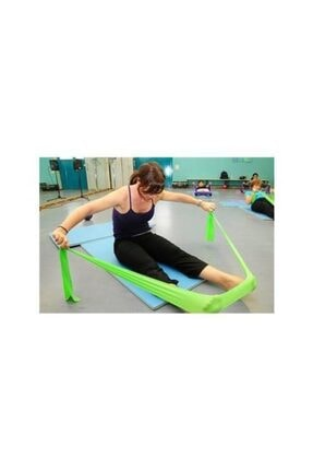 TechnoSmart Pilates Bandı Plates Egzersiz Direnç Lastiği 1 Adet 2