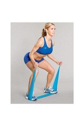 TechnoSmart Pilates Bandı Plates Egzersiz Direnç Lastiği 1 Adet 4