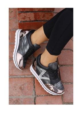 Guja Kadın Siyah Yuksek Taban Spor Ayakkabı 1