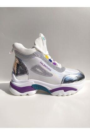 Guja Kadın Gümüş Spor Ayakkabı 2