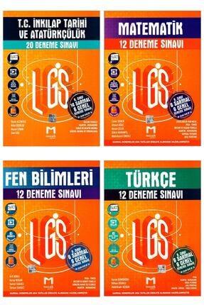 Maksimum Mozaik Mozaik Yayınları Lgs Deneme Seti 4 'lü-türkçe-matematik-fen-ınkılap 0