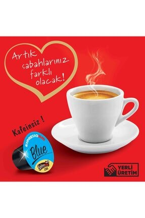 ESPRESSOMM Nespresso Uyumlu Blue Kapsül Kahve - Kafeinsiz! (50 ADET) 3