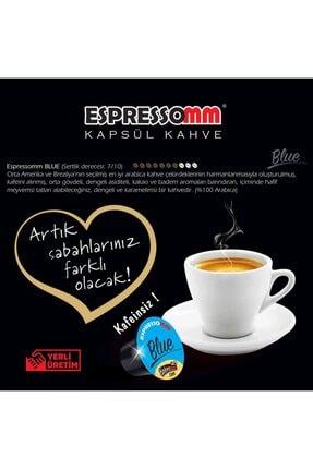 ESPRESSOMM Nespresso Uyumlu Blue Kapsül Kahve - Kafeinsiz! (50 ADET) 4