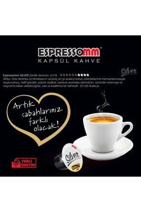ESPRESSOMM Silver Kapsül Kahve (50 Adet) - Nespresso Uyumlu 4