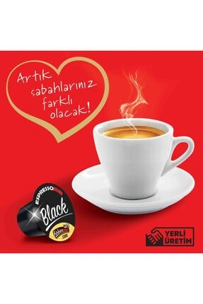 ESPRESSOMM Nespresso Uyumlu Black Kapsül Kahve (100 ADET) 3