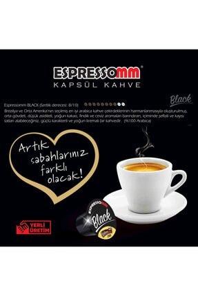 ESPRESSOMM Nespresso Uyumlu Black Kapsül Kahve (100 ADET) 4