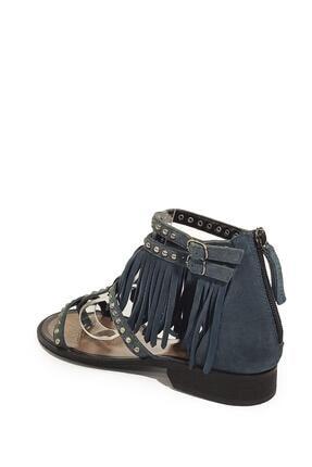 Nursace Kadın  Hakiki Deri Sandalet Nsc16y-a08237 2
