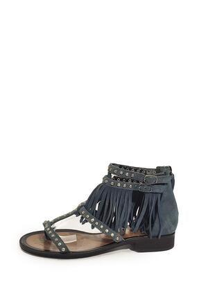 Nursace Kadın  Hakiki Deri Sandalet Nsc16y-a08237 3