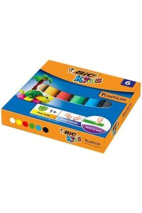 Bic Plastelina Kurumayan Oyun Hamuru 6 Renk 0