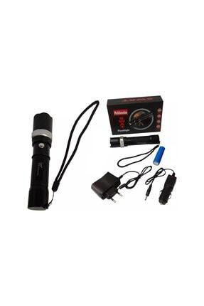yopigo Km-110 Profesyonel Şarjlı El Feneri Ledli+flashlight+zoom Özellikli 6 Parça Full Set 3