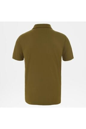 The North Face Tanken Polo Erkek T-shirt Yeşil 1